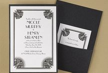 A New York State of Mind / For a wedding worthy of the Empire State. Invitation designs available at Persnickety Invitation Studio.