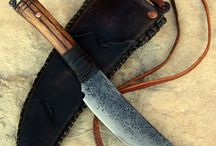Noże axe knives passion hobby