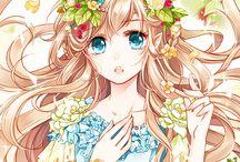 Inspiration style manga / Persos manga