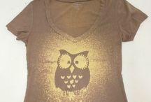 T-Shirts eule / DIY