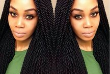 Protective Hairstyles / Because plain hair is boring!!! #braids #beauty #Africanroots #dreads #beunique