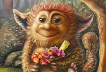 trols  & elfjes