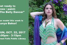 The Belly Dancer - Art Workshop