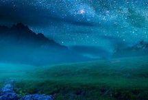 céus estrelados