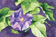 Art peinture : floral Paul. C. Dennis