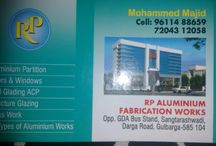 Projects done by RP aluminium fabrication work