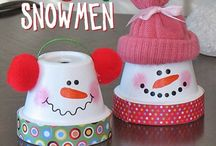 Christmas crafts / by Christine Bangert(Hansen)