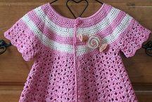 Babytøj strikket og hæklet