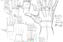 Desenho estudos / Estudos e criação de desenho arte