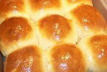 pães em geral.