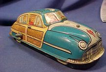 Vintage Car Toys / All the cool toys you played with when you were a kid.