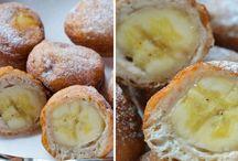 Smažené banány ve skoricovem testicku