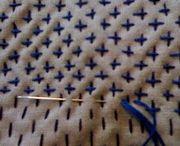 BAG sashiko embroidery