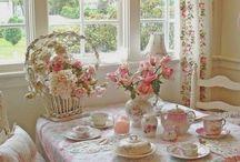 Decoração Cottage Romântica! / Veja + Inspirações e Dicas de decoração no blog!  www.construindominhacasaclean.com