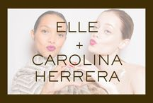 Elle + Carolina Herrera / Behind the scenes from the Carolina Herrera Fall 2015 collection. / by Carolina Herrera