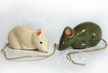 "Les Ceramiques de Lussan - Keramikskulpturen / Handgefertigte Keramikfiguren nach traditioneller Fertigungsweise aus Frankreich von dem kleinen Atelier ""Les Ceramiques de Lussan"""