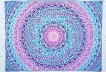 Mandala à main levée