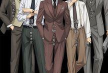 Joker Game / Boys in tuxedo:3