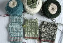 Knitting, weaving