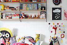 Shelves, cupboards