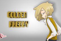 Fnaf high school / Son los personajes y partes de la serie que está haciendo edoochan