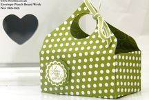 Stampin' Up! Envelope Punch Board Ideas