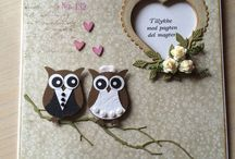 Owl wedding decorations