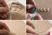 Sculping with Clay