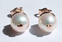 AMORE / Gioielli in Argento e perle coltivate d'acqua dolce