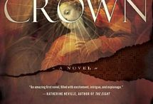 """Covers of """"The Crown"""" / These are the covers in North America, the United Kingdom and foreign markets of my historical thriller"""