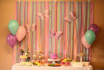 Allisons first birthday ideas