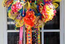 メキシカンリース Fiesta Wreaths