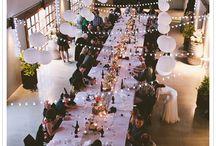Wedding venue lighting / by Helen Lawrence