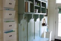 mudroom & laundry room / by Stephanie Singley