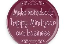 Wise Sayings Buttons / Funny Buttons - Custom Buttons - Promotional Badges - Wise Sayings Pins - Wacky Buttons