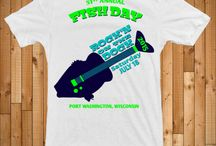 """Port Fish Day 2015 - """"Rock'N On The Dock"""" / July 18, 2015.  World's Largest One Day Outdoor Fish Fry"""