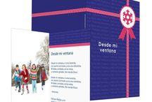 Tarjetas de Navidad / Felicita la Navidad a tus seres queridos con las elegantes y originales tarjetas de Sendmoments. Tenemos felicitaciones para particulares y para empresas. ¡Descúbrelas!