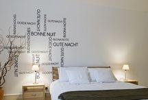 Stickers Divers / Various / Un mot doux, une citation, une expression ... Décorez vos murs avec des message originaux. Une collection idéale pour personnaliser votre intérieur et laisser des messages à vos proches.