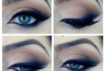 Makeup Your Face / Makeup styles to try / by Danielle Barham