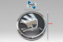 Neu Original Emblem Logo 90mm Heckklappe Skoda SuperB 3T9853621