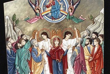 Ascension / The Feast of the Ascension, celebrated on the 40th day of Easter (always a Thursday), is one of the chief feasts of the Christian year. The feast dates back at least to the later 4th century, as is widely attested.