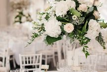 Tall vase centrepieces