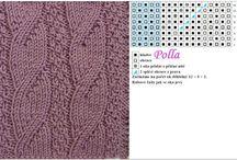 Vzory na pletení / Pletení