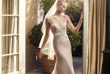 Rose Gold Gowns / Here, you'll find a curated collection of Casablanca Bridal gowns with romantic rose gold detail.