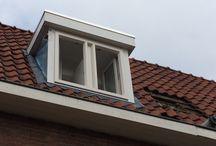 Dakkapel Utrecht / Plaatsing kunststof dakkapel van 2.000 x 1.300 mm. in Utrecht!