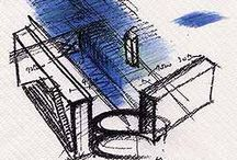 Architectural Drawings / Love a good sketch