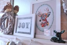 Easy Holiday Decorating Ideas / Easy DIY holiday decorating ideas for the home