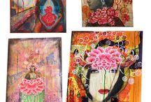 wallpaper collage art