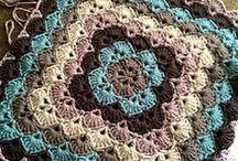 Crochet quadrado da vovó