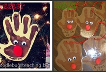 Jennuine December Ideas / Fun classroom activities and projects to do in December.